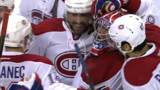 Danault with a breakaway snipe for Canadiens in OT
