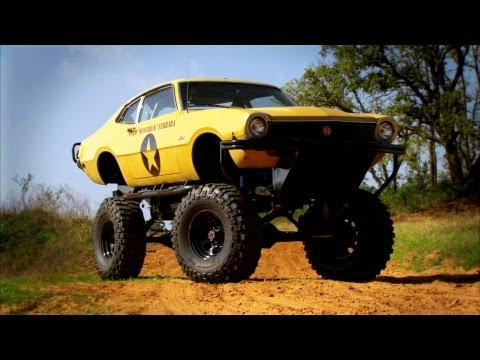 Monster Truck Modification - Top Gear USA - Series 2