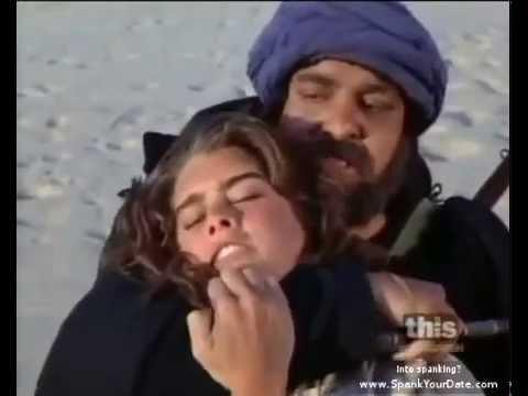 Whipped women scenes - female whipped by arab men