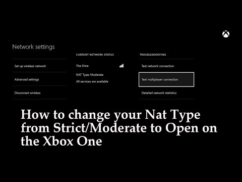 How To Change Your Nat Type From Moderate To Open On Xbox One