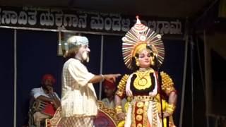 Yakshagana saligrama mela ,ramesh bhandari kandara 5