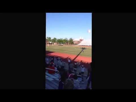 Cross Creek High School wins 4x100m relay - Devon Diamond 4th Leg