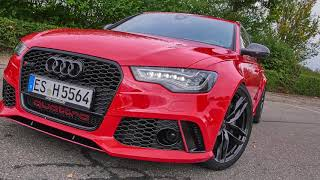 #Hellride: HGP Audi RS6 (C7) Avant (810 PS) - #reddevil in Action - incl. 0-100 km/h & 0-200 km/h