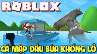 Roblox   KIA BIẾN THÀNH CÁ MẬP ĐẦU BÚA SIÊU NGUY HIỂM - SharkBite   KiA Phạm