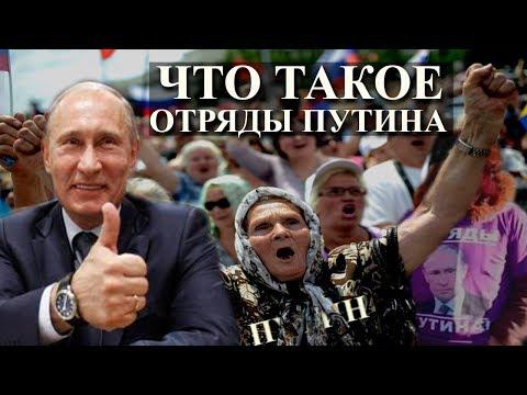 Отряды Путина: как устроены и кто за ними стоит