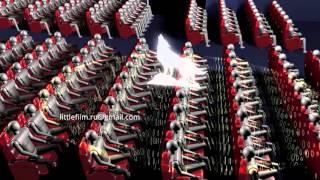 Промо ролик для вашего сайта, моушн дизайн, анимация 3d (Yalos Stream engl)