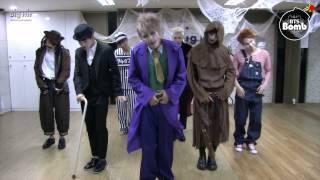 BANGTAN BOMB War of hormone in Halloween