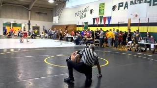 Gabes 4th match at tourny. W by pin 12/2014