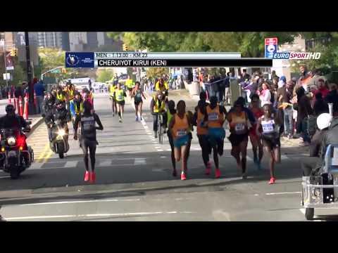 New York marathon 2014's full race (women and men)