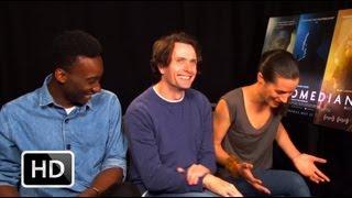The Comedian - Nathan Stewart-Jarrett, Edward Hogg and Elisa Lasowski interview | The Upcoming