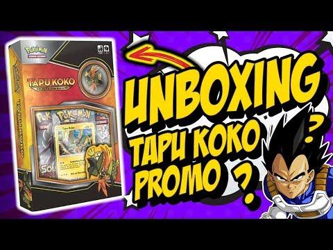 UNBOXING BOX TAPU KOKO PROMO! DIVÃ DO VEGETA?!