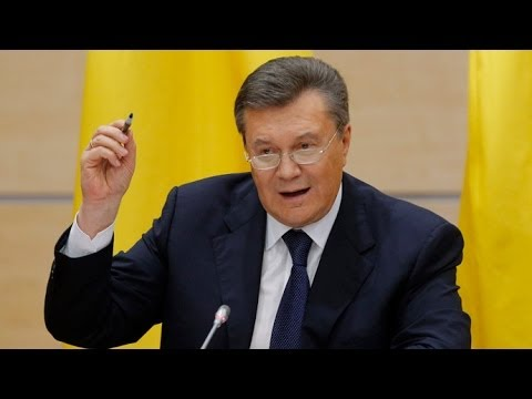 Ousted Yanukovich talks to press in Russia (FULL CONFERENCE)