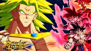 KAIOKEN SUPER SAIYAN GOD! Broly's Worst Nightmare! Dragon Ball Legends