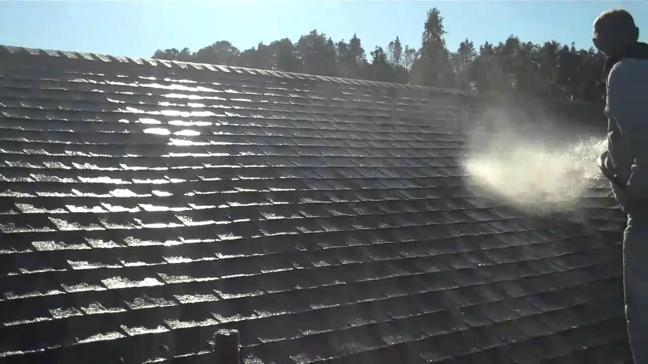Soft Wash Shingle Roof Www Painting Tampabay Com Youtube