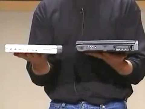 Apple Special Media Event 2001-The 2nd Generation iBook