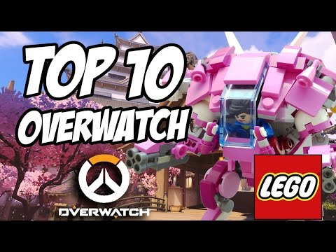 Top 10 LEGO Overwatch Custom Mocs