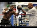 Peter Quillin vs. Gabriel Rosado: Peter Quillin heavy bag workout (HD)