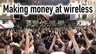 London Hacks - Making money at Wireless Festival 2018