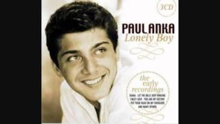 Watch Paul Anka Lonely Boy video