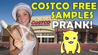 Costco Free Samples Prank