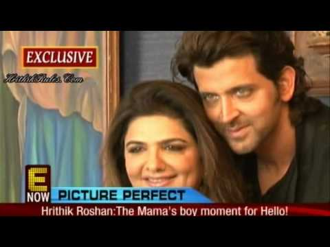 Pinky & Hrithik Roshan's PhotoShoot - Hello Magazine's Mother's Day Special (HD)