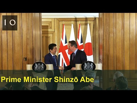 Press Conference with Shinzō Abe, Prime Minister of Japan