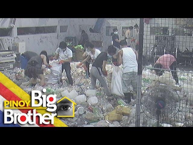 PBB 7 Day 122: Housemates, nangalakal ng basura para sa kanilang parol weekly task