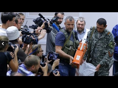 Rebels hand over MH17 black boxes