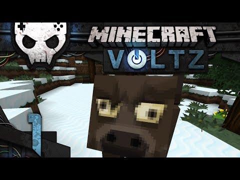 Minecraft Voltz Wars Ep 1: A world of derpy cows