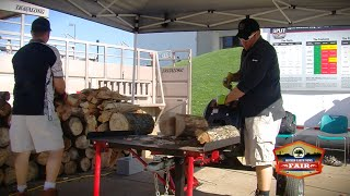 Split Second Kinetic Log Splitter at the MOTHER EARTH NEWS FAIR