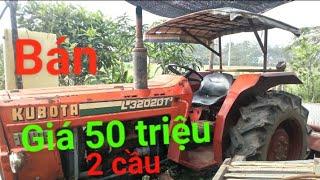 Bán máy cày Kubota L3202DT- 2 cầu giá 50 triệu LH:0379369773( Nguyễn Văn hậu Vlongs)30/12/2018