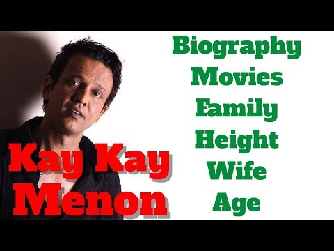 Kay Kay Menon Biography | Age | Family | Wife | Movies and Height