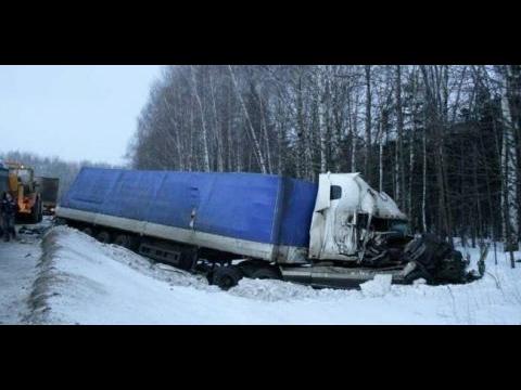 Дорожные монстры - подборка ДТП и Аварии фур и грузовиков
