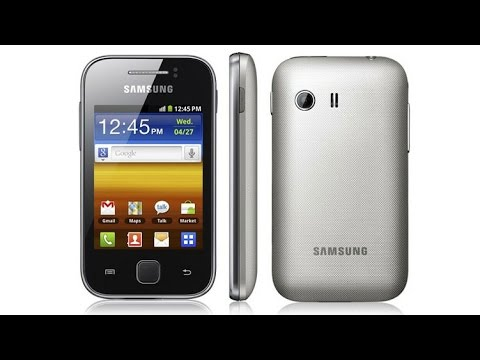 How to restore a bricked Samsung Galaxy Y s5360 to original firmware using Odin 1.85