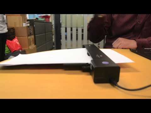Demo: Canon P-208 Portable Scanner