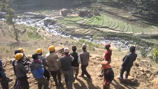 DRILP-AF Jajarkot Working at Thalaha-Batule-Aaulatari Road Sub Project (TBAR)