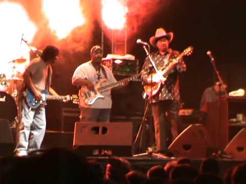 Getxo&Blues 2009 Lonnie Brooks&Kenny Neal jam 2