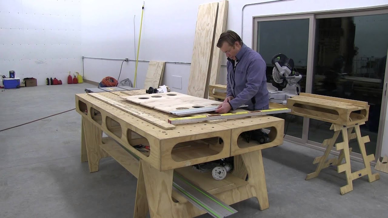 Building The Paulk Workbench Part 2 Making Saw Horse