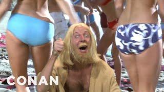 Fan Correction: Jesus Christ Was Not Blonde! - CONAN on TBS