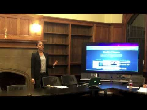 Fourblock Linkedin Presentation at Columbia University