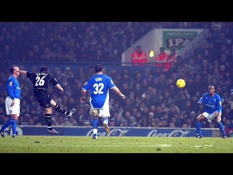 LEIGHTON BAINES FIRST WIGAN ATHLETIC GOAL - IPSWICH - 21/12/2004