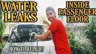 Car Leaking Water On Passenger Floor ! Santro xing