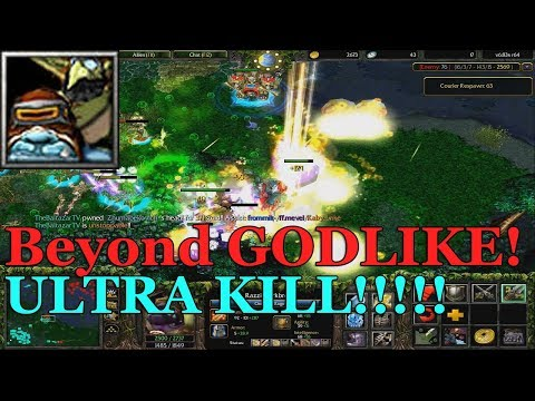 DOTA 1 Alchemist Vs. HIGH SKILLED PLAYERS (BEYOND GODLIKE)