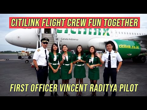 Citilink Flight Crew Fun Together!!