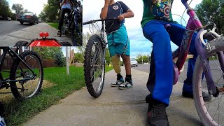 HENRY THE FPV RC CAR gets aggressive with the kids in the neighborhood!