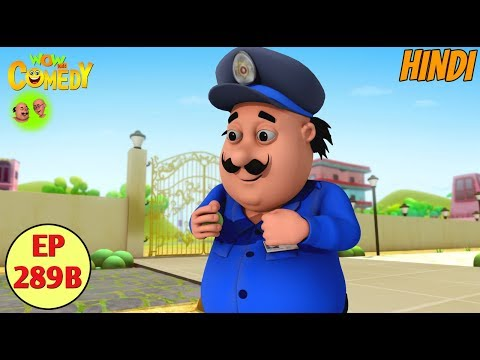 Motu Patlu | Cartoon in Hindi | 3D Animated Cartoon Series for Kids | Motu The Watch Man thumbnail