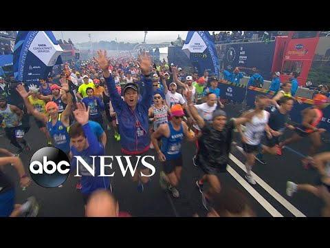 The 2018 NYC Marathon is underway