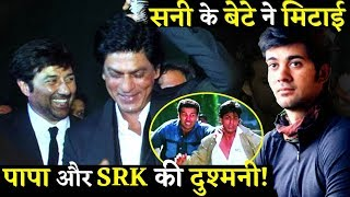 Karan Deol Debut Melts The Ice Between Sunny Deol And Shahurkh Khan!