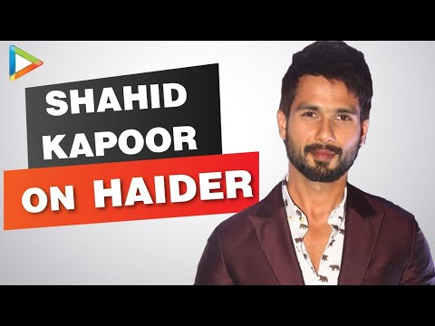 Haider: Shahid Kapoor Exclusive Interview Part l