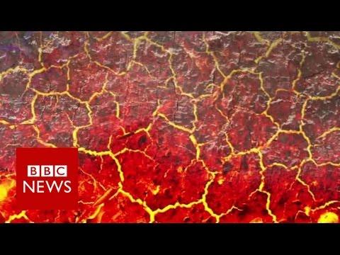 How do you drill into a 500C volcano? BBC News